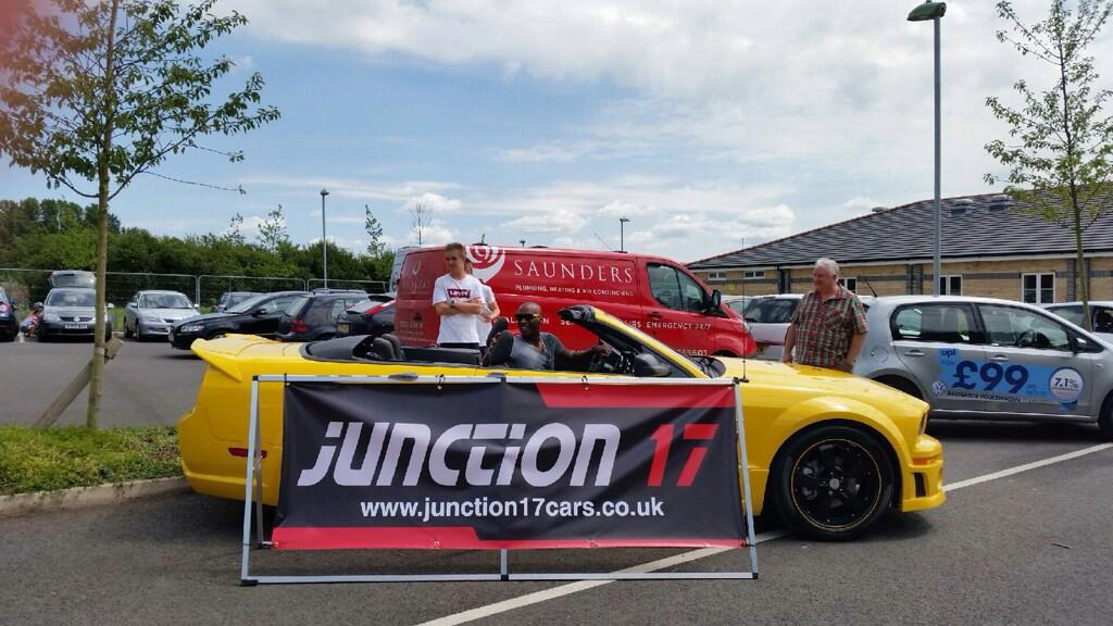the legends football match featuring junction 17 cars. Black Bedroom Furniture Sets. Home Design Ideas